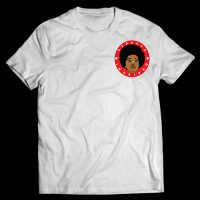 streets inspired t-shirt front white